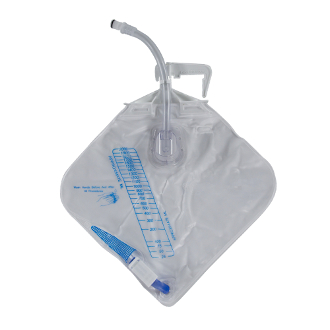 afex male incontinence system bedside collection bag